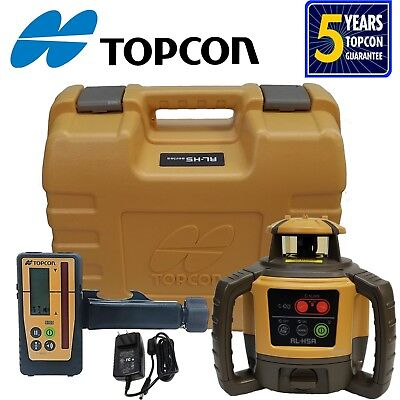 Topcon Rl-h5a Rb.d Rotary Level With Ls-100d Receiver...