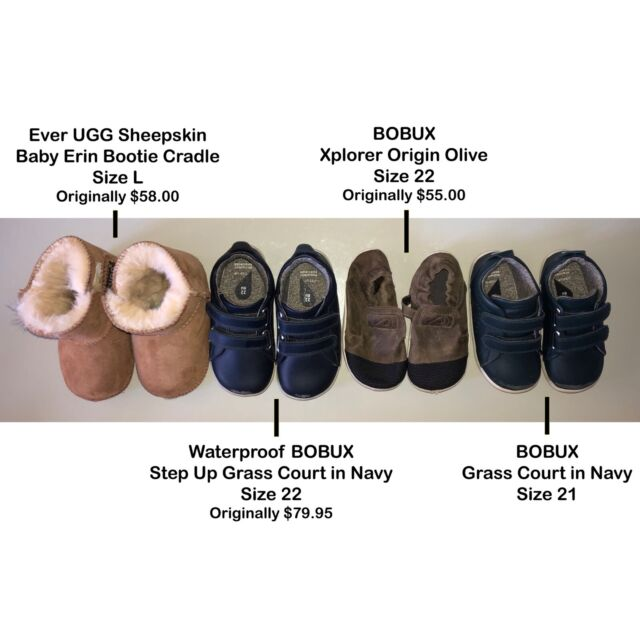 43cb0a1eaa7 BOBUX shoe collection EU 21-22 (2 of the pairs are LIKE NEW!)   Baby ...