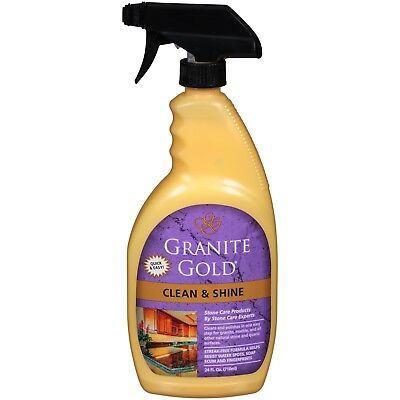 GRANITE GOLD CLEAN & SHINE fresh CITRUS SCENT polishes granite marble travertine