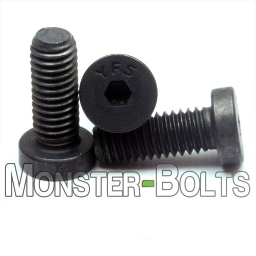 #6-32 - Low Head Socket Caps Screws SAE Alloy Steel w/ Thermal Black Oxide Fine