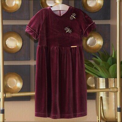 I Pinco Pallino Girls Jeweled Dragonfly Dress Size 10 New $249.00
