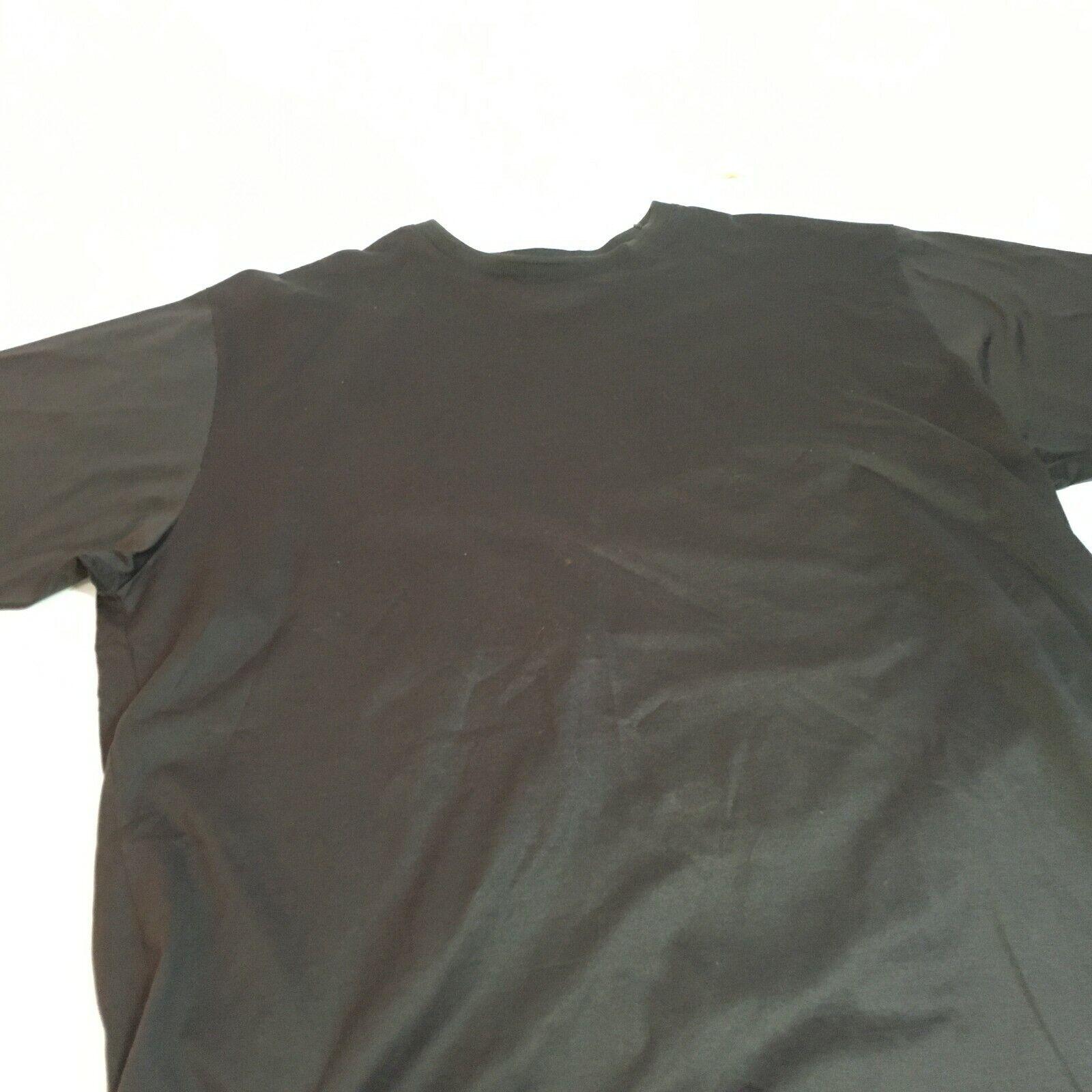 Hugo Boss Golf Mens Short Sleeve T-Shirt Sz L Black