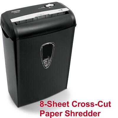 Cross-cut Paper Document Shredder Machine Home Office Credit Card Confetti Page
