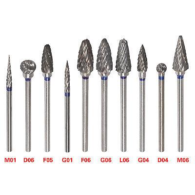 Dental Lab Polishing Bur Drills Tungsten Steel Carbide Burs Hp 2.35mm Tip Cutter