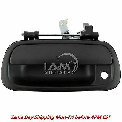 For 2000 06 TUNDRA Tail Gate TAILGATE HANDLE Black Textured Toyota Pickup Truck
