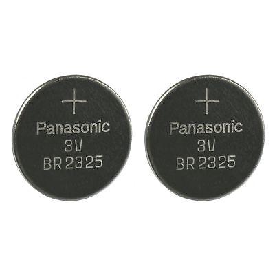 2 PANASONIC BR2325 CR2325 CR 2325 3v Lithium Battery