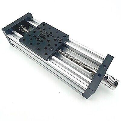 3d Printer Z-axis Lead Screw T8 Diy C-beam Cnc Sliding Table 200mm Linear Kit