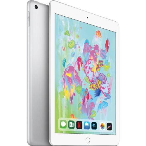 Apple iPad (Latest Model) with Wi-Fi 128GB Silver MR7K2LL/A