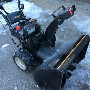 """Craftsman 11 horsepower/31"""" with electric start works great"""