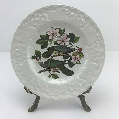Meakin, Alfred Birds of America White Color 8 7/8 #367 Pigeon Luncheon Plate