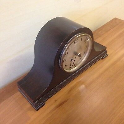 Vintage French Napoleon Hat Chime Mantel Clock