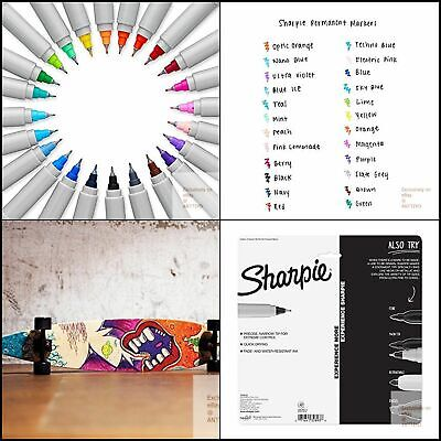 Sharpie Electro Pop Permanent Point Markers Assorted  Markers Ultra Fine