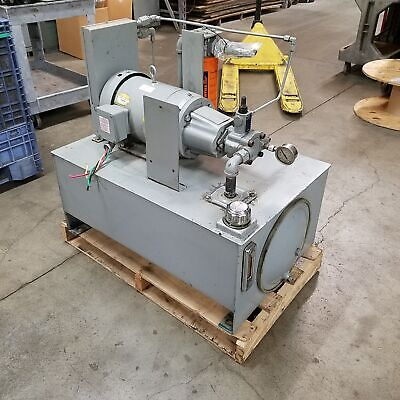 Continental Hydraulic 10b10-rf-p-1-h Approximately 40 Gallon Hydraulic System
