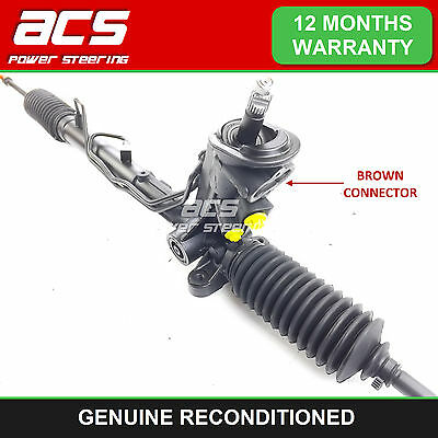 SEAT IBIZA 2002 TO 2009 RECONDITIONED POWER STEERING RACK (Brown Connector)