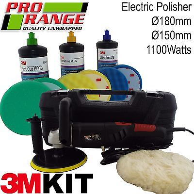 Digital Care Kit (Pro Range/3M Electric Polishing Machine Car Buffer Body Care Kit And Polisher)