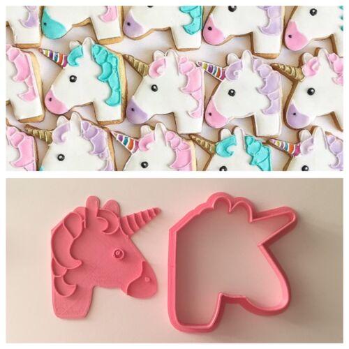 Unicorno Cavallo Pegasus Formina Biscotti Cookie Cutter Pdz 7 Cm