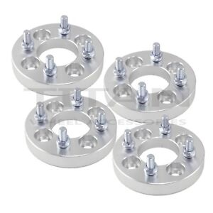 4pc 25mm 4x100 to 4x4.5 Wheel Adapters Spacers | 4x100 to 4x114.3 4 Lug Spacers