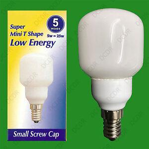 6-x-5W-Bassa-Energia-2700K-Mini-Sfera-Bianco-Caldo-Lampadina-SES-lampadina-CFL