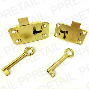 wardrobe lock key 50mm 63mm cupboard drawer cabinet door bedroom catch