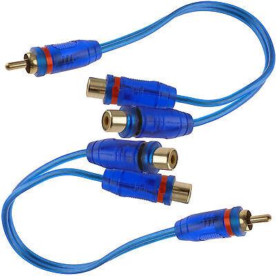 Audio Cable 2 Rca Plugs - 2x 7