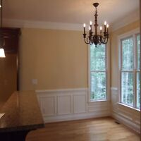WEST ISLAND MONTREAL PAINTER-20 yrs exp- FLAT RATES-REFERENCES