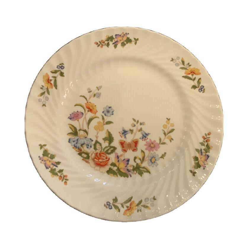 "Set Of 6 Aynsley Cottage Garden Salad or dessert Plate Bone China England 8 1/4"""