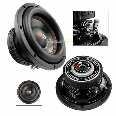 "DS18 SLC-8S 8"" Inch Subwoofer 400 Watts Max Power 4 Ohm Sub Show a preference for Series"