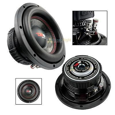 "DS18 SLC-8S 8"" Inch Subwoofer 400 Watts Max Power 4 Ohm Sub Select Series"