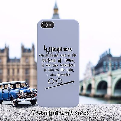 Harry Potter Happiness Quote Phone Case Cover For iPhone, Samsung, Huawei, Nokia