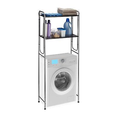 Überbauregal Waschmaschine 2 Ablagen WC-Überbau Waschmaschinenregal WC-Regal Bad gebraucht kaufen  Halle