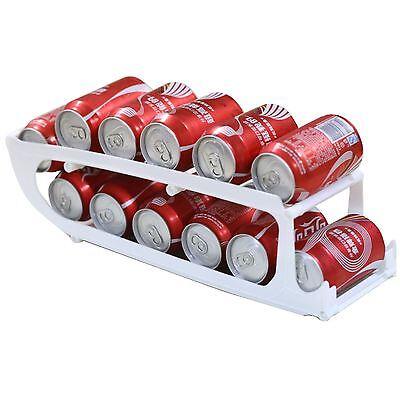 Tin Can Beer Drinks Beverage Dispenser Storage Fridge Rack Tray Organiser Holder