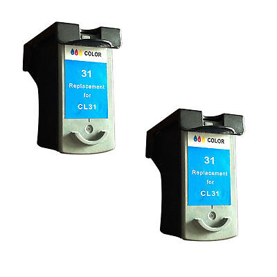 Cl 31 Printer Cartridge - Reman ink Cartridge for Canon CL-31(2 Color) use in Canon iP-2600 Printer