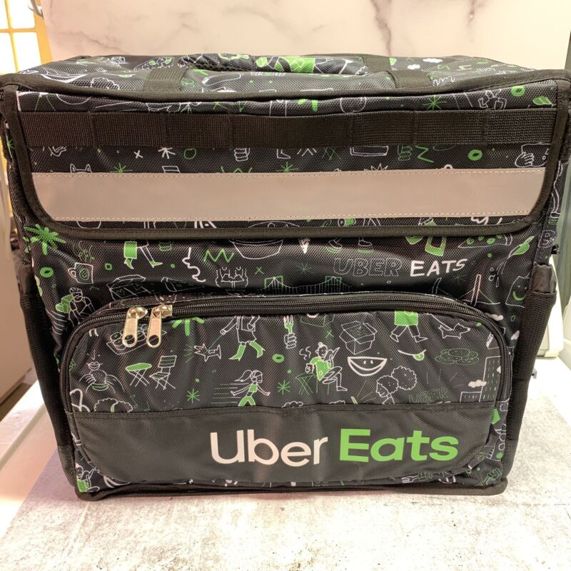 Uber Eats Delivery Sophia Insulated Backpack Artist Series Bag