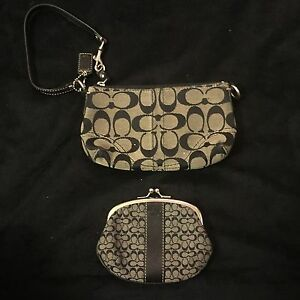 Coach wristlet and change wallet Edmonton Edmonton Area image 1