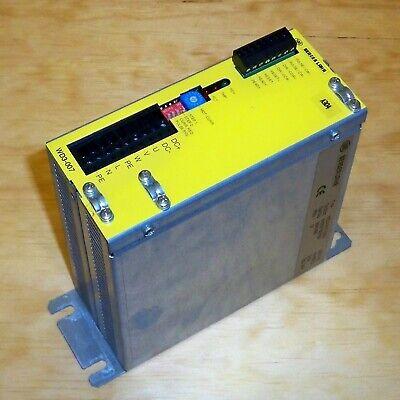 Sig Berger Lahr 3-phase Stepping Motor Power Controller Wd3-007.0501 Rev. 01
