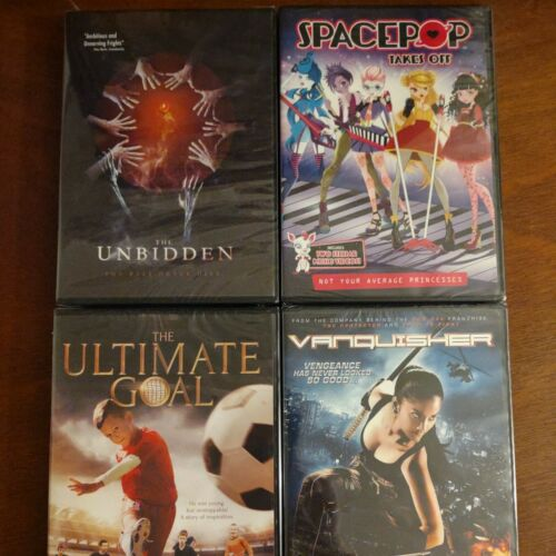 Lot Of 4 Movie Entertainment DVDs LM10 FREE SHIPPING  - $20.00