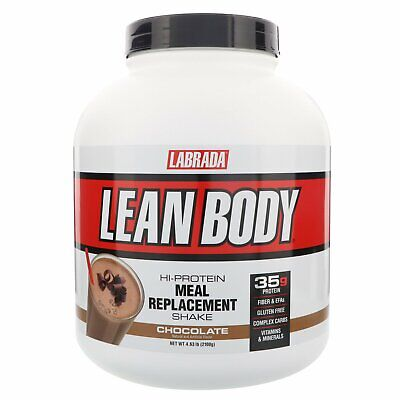Labrada Nutrition Lean Body Hi-Protein Meal Replacement Shake Chocolate 4 63