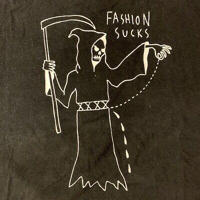 424 ON FAIRFAX Fashion Sucks tee t shirt SeanfromTexas collabo XL