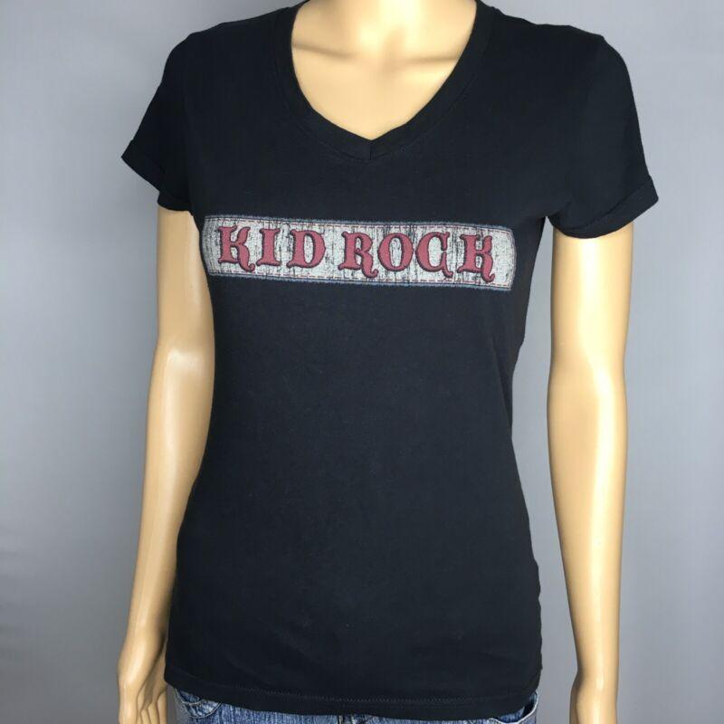Kid Rock 2011 Born Free Concert Tour Shirt Size Medium black short sleeve badass