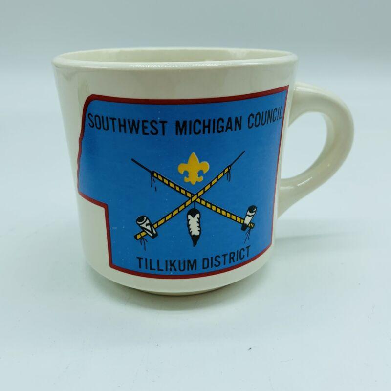 Southwest Michigan Council Tillikum District Boy Scouts Mug
