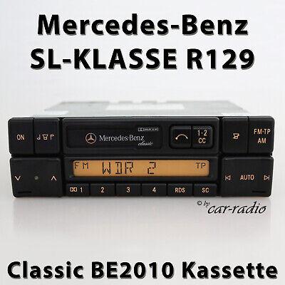 Original Mercedes Classic BE2010 R129 Radio SL-Klasse W129 Kassettenradio RDS