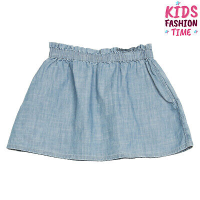 NICE THINGS MINI Denim Flare Skirt Size 4Y Elasticated Waist