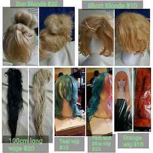 Wigs for sale! Surrey Downs Tea Tree Gully Area Preview