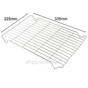 Small Chrome Grill Pan Rack Tray for Hotpoint Oven Cooker Replacement