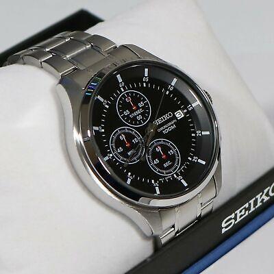 Seiko Stainless Steel Men's Quartz Neo Sports Chronograph Wa