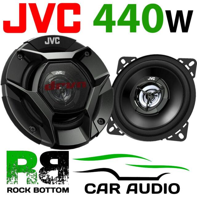 "JVC Vauxhall Vivaro A 2001-2014 Front Dash 4"" 10cm 2 Way 440 Watts Car Speakers"