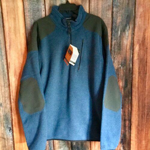 5.11 Men's Tactical Quarter Zip Sweater, Field Green, X-Larg