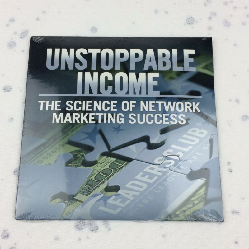 Unstoppable Income CD Network Marketing Andre Vatke Jeff Zalewski Leadersclub