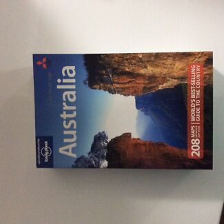 Australia guide by Lonely planet