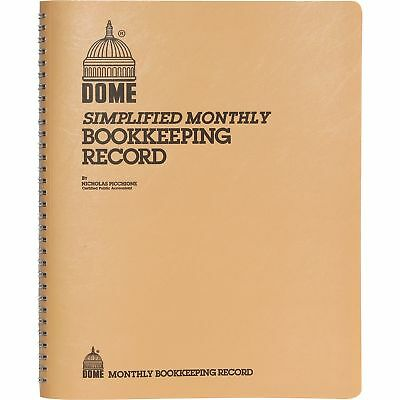 Dome Bookkeeping Record Book Dom-612 Dom612